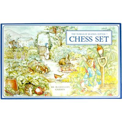 ピーターラビットのチェスセット