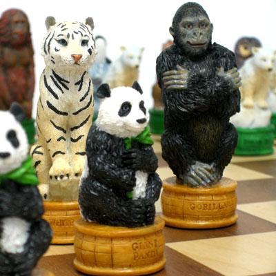 動物のチェス駒