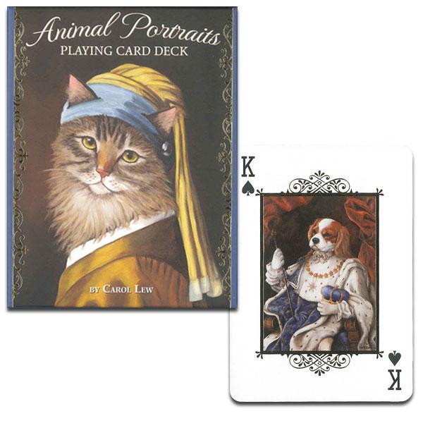 動物の肖像画